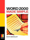Word 2000 Made Simple by Keith Brindley (Paperback, 1999)