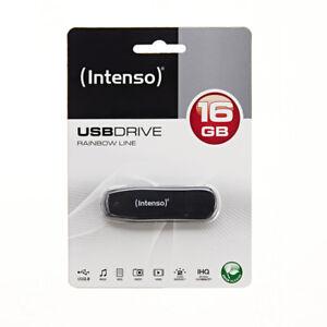 INTENSO-16-GB-USB-Speicher-Stick-Rainbow-Line-schwarz-transparent