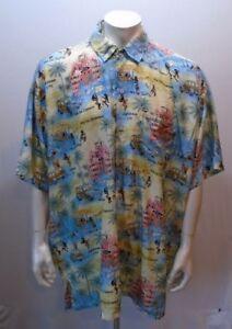 9222f1a0 Rima Men's Terivoile Short Sleeve Button Down Hawaiian Aloha Camp ...