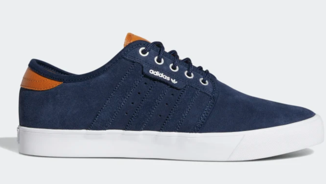 NEW NEW NEW adidas SEELEY EE6129 Collegiate Navy Cloud White