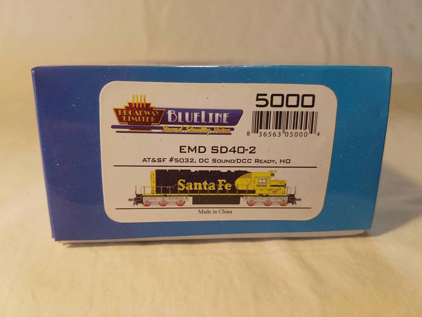 blueeLine - 5000 (Walthers 187-5000) - EMD SD40-2 LH - AT&SF