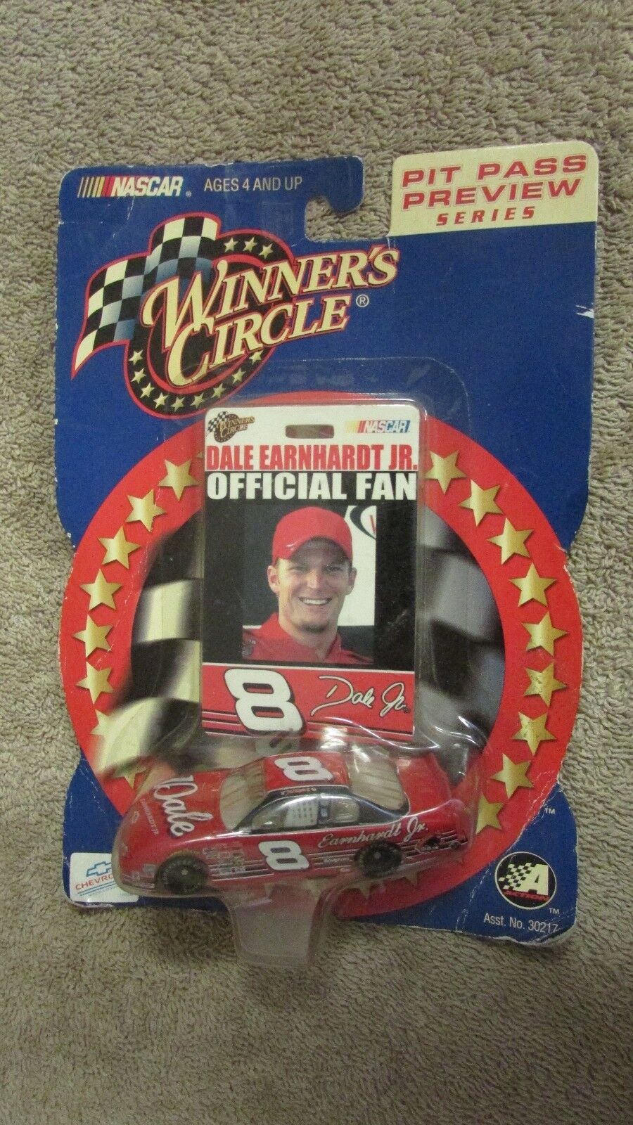 Nascar Winner's Circle Pit Pass Preview Series Dale Earnhardt Jr. Car   (CA 11)