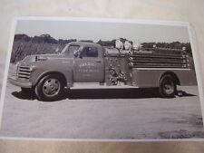 1951 CHEVROLET FIRETRUCK SHERMAN FIRE DEPT SHERMAN NY  11 X 17  PHOTO   PICTURE