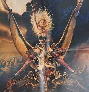 1981 National Lampoon Heavy Metal Movie Poster Devo Cheech Chong Agradable Suenos Ebay