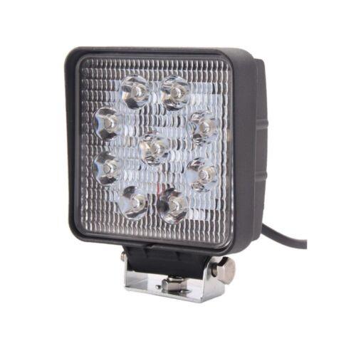 2PCS 4Inch 27W Square Spot Beam Led Work Light Driving Fog Lights Front Bumper