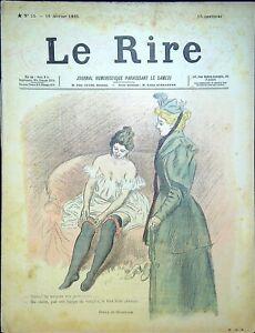 Le RIRE N° 15 du 16 Février 1895