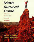 Math Survival Guide: Tips and Tricks for Science Students by Jeffrey R. Appling, Jean Richardson (Paperback, 2003)