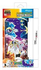 New Nintendo 3DS LL XL TPU Soft Case Cover Solgaleo Lunala Pokemon Sun and Moon