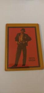 Neon Deion Sanders Baseball Football Card Near Mint