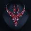Women-Fashion-Bib-Choker-Chunk-Crystal-Statement-Necklace-Wedding-Jewelry-Set thumbnail 19