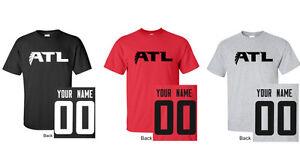 ATL Atlanta Name   Number CUSTOM T-Shirt Jersey Personalized Falcons ... a5185f3bd