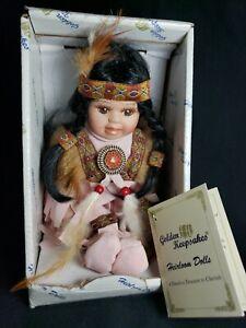 Golden Keepsakes Heirloom Native Indian Doll
