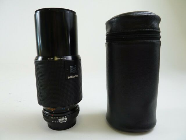 Kiron 70-210mm F4 for Nikon F Mount in case with lens caps. Excellent Condition.