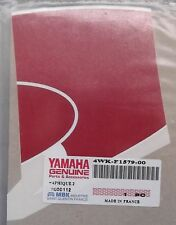 Genuine Yamaha CW50RSP SPY RH Right Front Panel Decal Emblem 4WK-F1579-00
