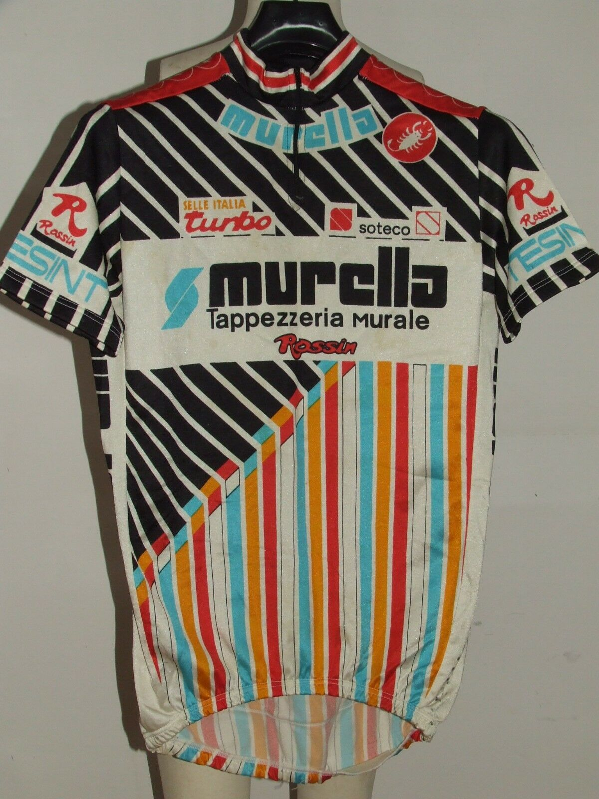 MAGLIA BICI CICLISMO SHIRT MAILLOT CYCLISM SPORT TEAM  MURELLA CASTELLI tg. XL  just buy it