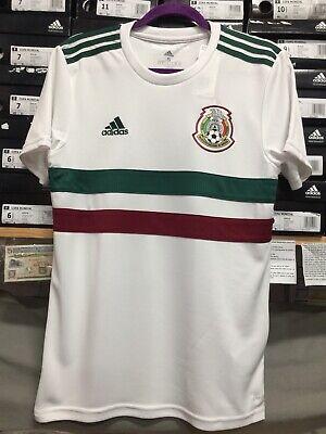 adidas mexico soccer jersey White Playera De Mexico Blanca Size Large Only 191034886194   eBay