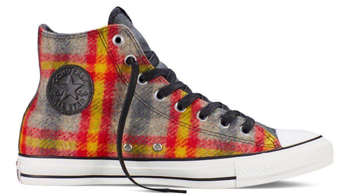 Converse Chuck Taylor Woolrich Herren (Größe 5.5 Damen Größe 7.5) Woolrich Taylor Wolle Sneakers cde9c8