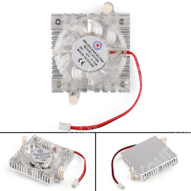 1Pcs Grafica Tarjeta Ventilador Brushless Cooling Fan 4010 40x40x10mm 12V 0.1A B