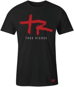 034-True-Riches-034-T-Shirt-to-Match-Air-Retro-034-Satin-Bred-034-5-039-s