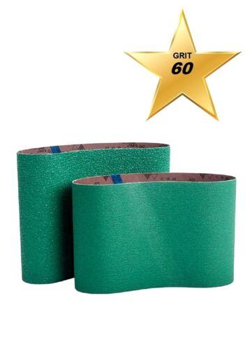 """Bona AAS860077860 GREEN Ceramic 8/"""" Sanding Belts 7-7//8/"""" x 29-1//2/"""" Qty 5 GRIT 60"""