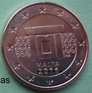 Malta 5 Euro Cent Münze Euromünzen Coins Moedas Jahr Nach Wahl Ebay