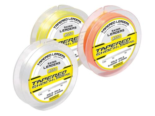Asso Tapered Shock Leader Sea Fishing Line  Clear