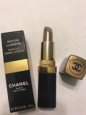 BRAND NEW! Chanel Rouge Lumière Metallic Cream Lipstick GOLD Photon *SHIPS FREE*