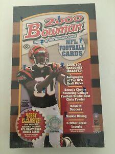 2000 Bowman Football 24 CT Factory Sealed Box. Tom Brady? GOAT!!!!