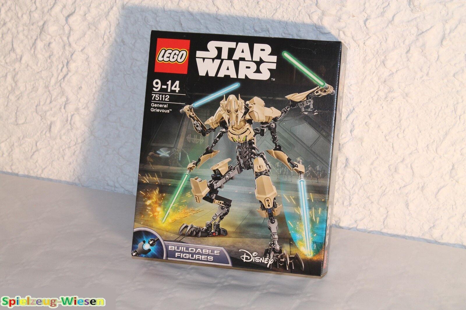 LEGO® STAR WARS™ Figur 75112 General Grievous™  - NEU & OVP -