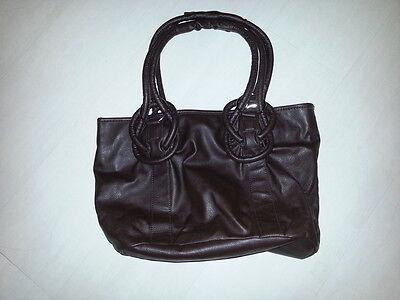 Handtasche Tasche braun wie neu Lederimitat