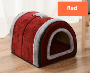 Pet Cat Dog Bed Soft Bed Met House Waterproof Covered For Large dogs(S,M,L)