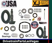 Jeep Cherokee Xj 1985 1995 Re Gearing Package Gear Sets & Pinion Kits 4.56 Ratio
