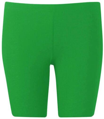 New Womens Plus Size Summer Cycling Knee Shorts Jersey Viscose Hot Pants 16-26