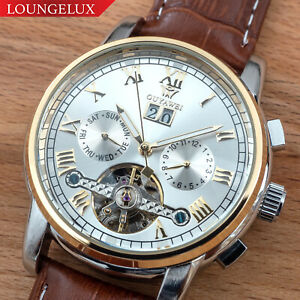 Mens-Flywheel-Quality-Luxury-Bling-Skeleton-Automatic-Mechanical-Watch-Leather