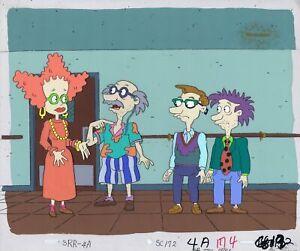 Rugrats Original 1990's Production Cel Animation Art Retirement Home