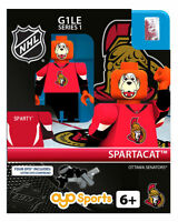 Sparty Spartacat Mascot Ottawa Senators Oyo Figure Nhl Hockey Figure G1