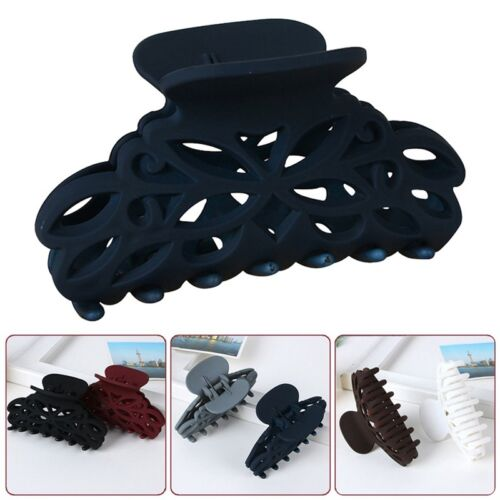Women Ladies Plastic Hairpins Hair Clip Crab Shower Hair Claws Large Size New HQ