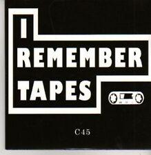 (AC225) I Remember Tapes, C45 - Ltd Ed DJ CD