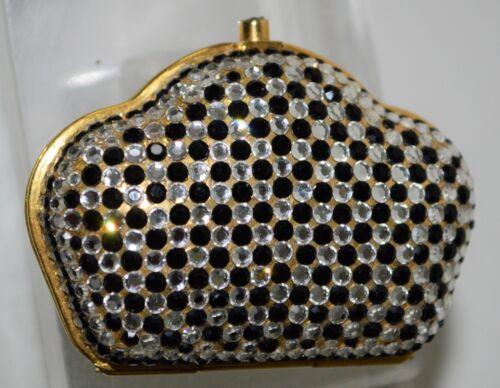 Strass Leiber Noir Judith Casemate Vintage Haut Curve Cristal Découpée ZwvRTFqw