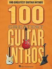 100 Greatest Guitar Intros, Hal Leonard Corp., Good Book