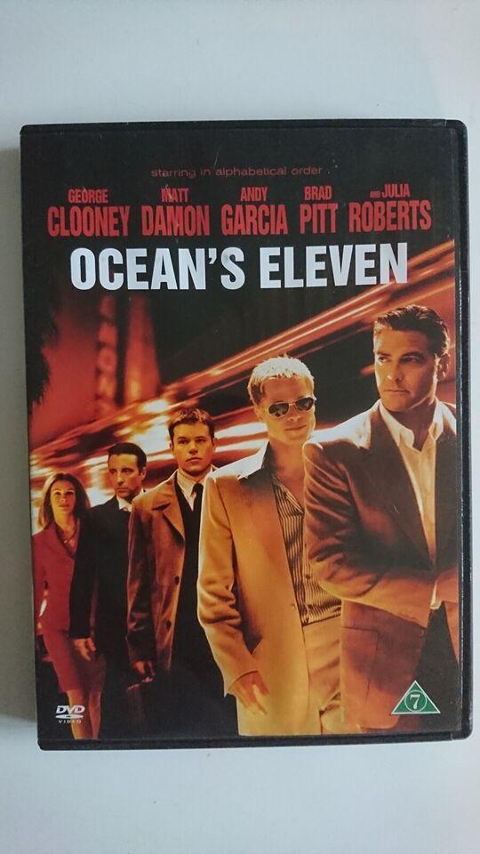 Ocean's Eleven, instruktør Steven Soderbergh, DVD