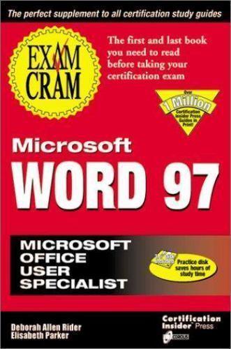 """Microsoft Word 97 by Christy, Deborah Alyne """