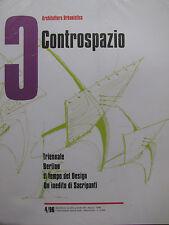 CONTROSPAZIO n°4/96 (Design/Triennale Berlin-Riv. architettura/