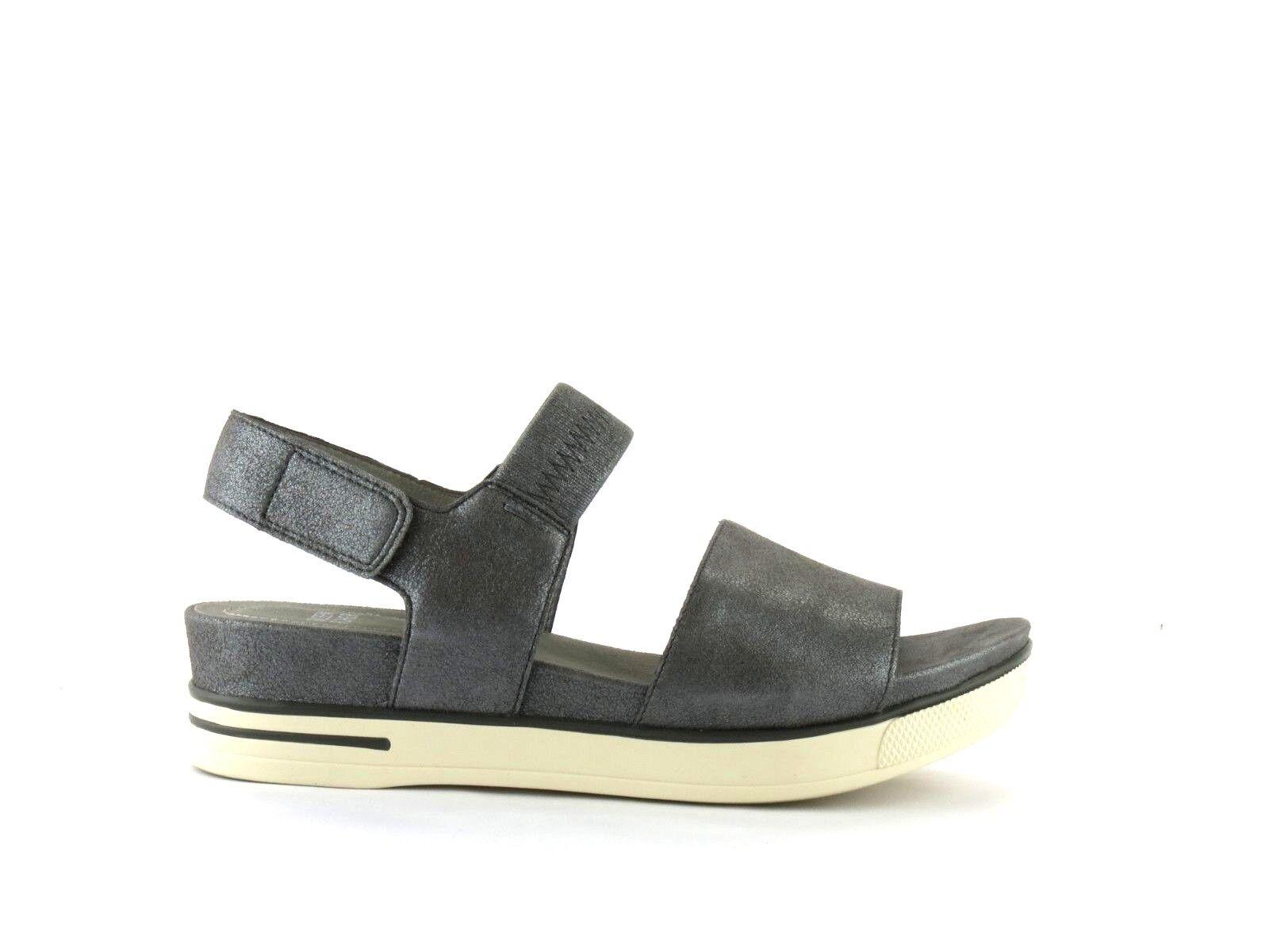Eileen Fisher Somer Silver Metallic Suede Leder Leder Leder Platform Sneaker Sandale NEW 10 d7de55