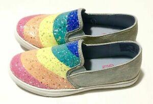 JoJo Siwa Rainbow Sparkle Slip-On