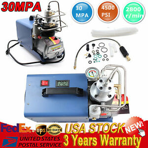 Electric Pump High Pressure 30MPa Air Compressor System Rifle PCP Air Gun 110V