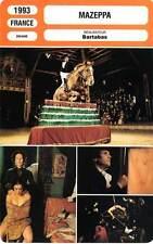 FICHE CINEMA : MAZEPPA - Bosé,Bartabbas,Marty 1993