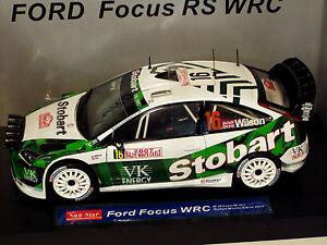 1/18 Ford Focus Wrc Stobart Rallye de Monte-Carlo 2007 M.wilson