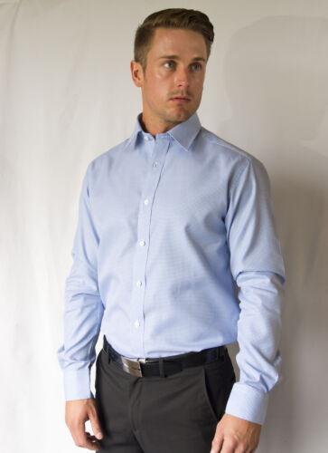 2 Ply 100/% Egyptian Cotton Business Formal Dress Shirt COTTIZA