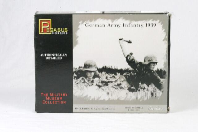 PEG-7202 GERMAN WAFFEN SS SET #2-1//72 SCALE 20mm Pegasus Hobbies